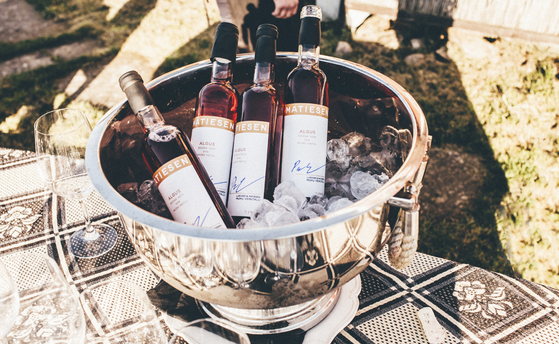 Matiesen Algus rosé wine