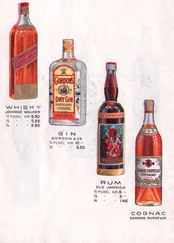 Matiesen imported spirits - Whisky, Gin, Rum and Cangoc
