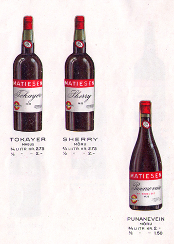 Matiesen imported wines