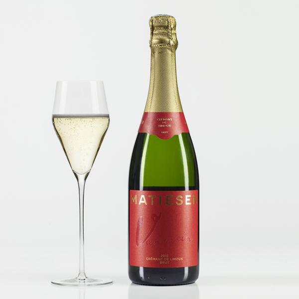 Matiesen Crémant de Limoux 2015 brut Blanc de Blanc sparkling wine
